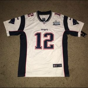 Tom Brady New England Patriots Nike Limited Jersey